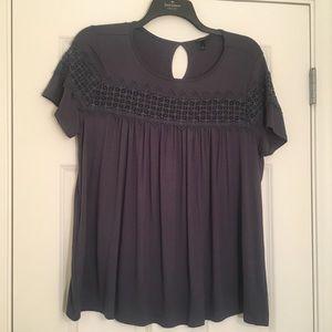 New Torrid Size 1 Blue Green turquoise shirt
